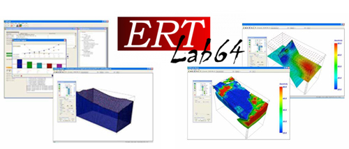 ERTLab is the software for 3D inversion of resistivity and induced polarization